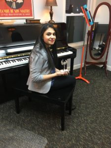 Music Notes' Student Meghna Wins 1st Place!