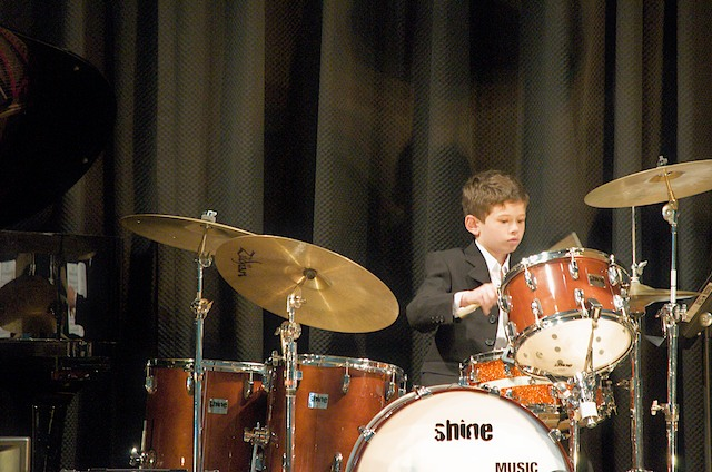 Drummer, Performing at Recitals