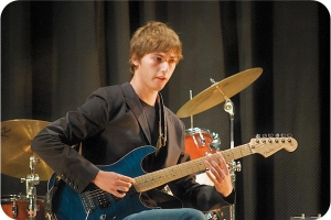 Matthew, one of our all-time best guitarists at Music Notes.