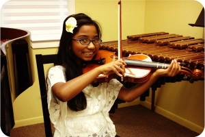 In-Home Violin Student