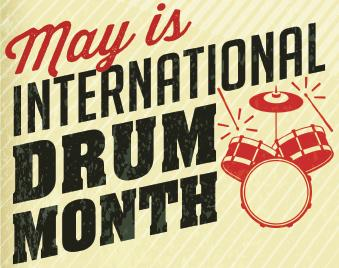 May Is International Drum Month @ Music Notes Academy  | East Brunswick | New Jersey | United States